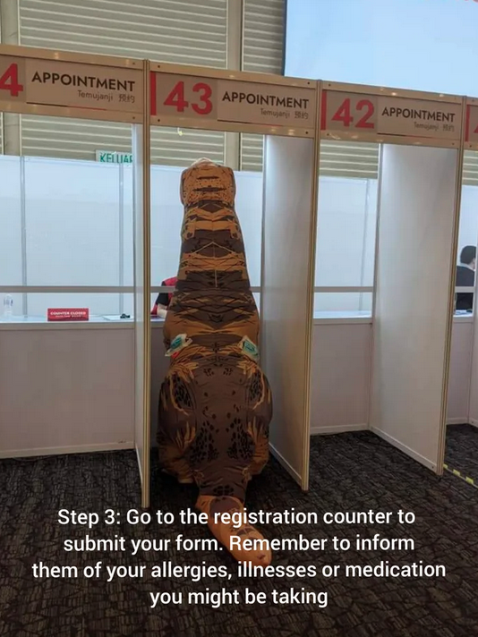 T-Rex gets its vaccination in Malaysia 70
