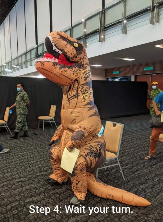 T-Rex gets its vaccination in Malaysia 71
