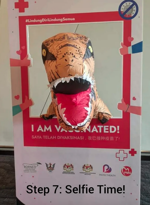 T-Rex gets its vaccination in Malaysia 75