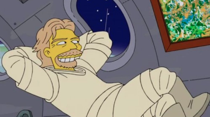 """Richard Brandson's space trip was predicted by """"The Simpsons"""" back in 2014 68"""