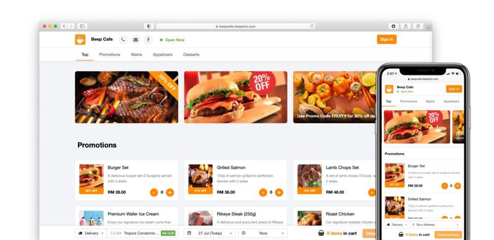 Beepmix Online Store