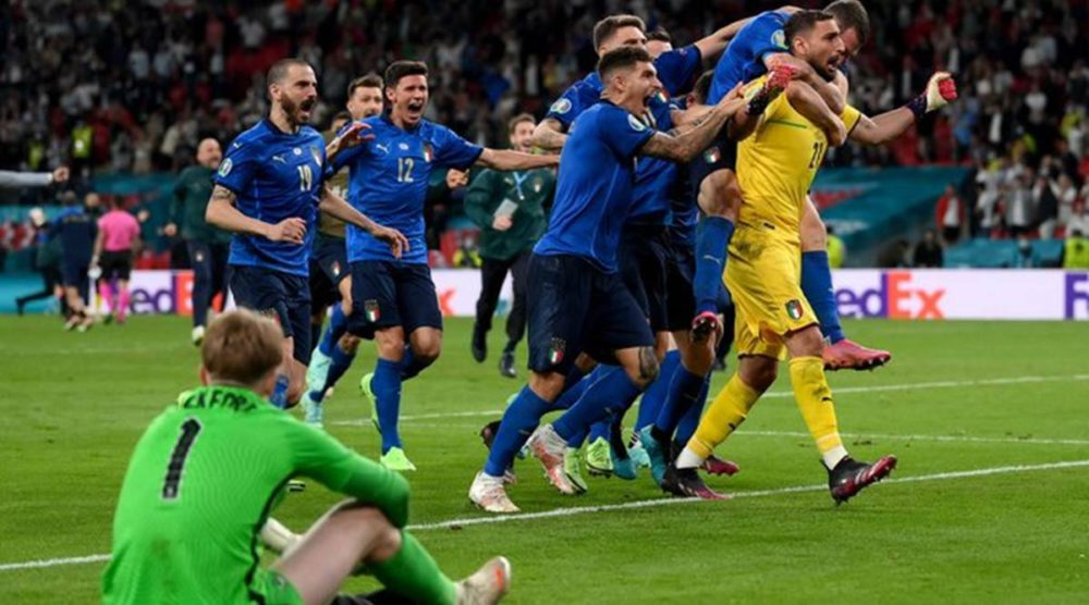 Gianluigi breaks England's dream; Italy crowned Euro Cup champion 62